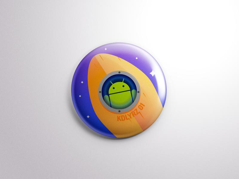 KDLYRZ 01 android kodluyoruz badge