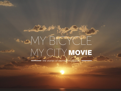 Benim Bisikletim Benim Şehrim Film / My Bicycle My City Movie art director directors stories women bicycle logo animation movie poster movies production director movie