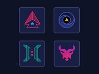 Starborne Confederacy Icons