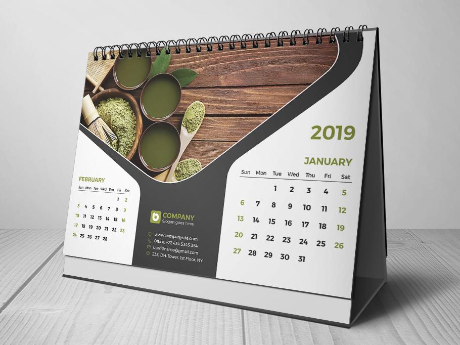 desk calendar 2019 by bayazid ahmed bulbul