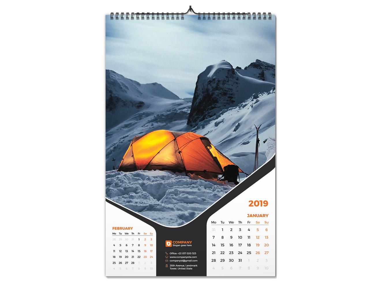 Wall Calendar 2019 By Bayazid Ahmed Bulbul On Dribbble