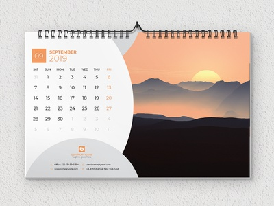 Creative Wall Calendar Designs, Themes, Templates And Downloadable