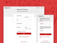 New Seznam Registration Form