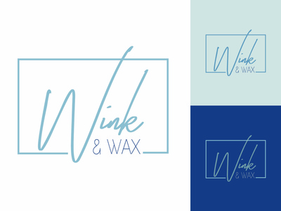 Wink & Wax Salon Logo