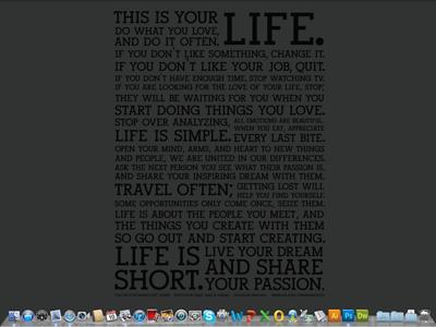 What s your desktop picutre