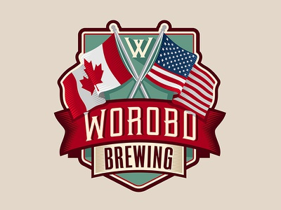 Worobo Brewing flags brewery beer microbrew