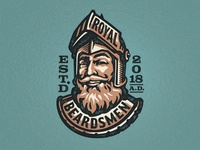 Royal Beardsmen Logo Concept