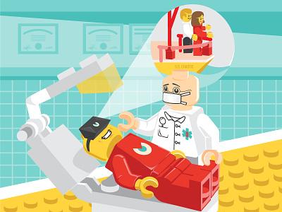 Chaos Theory Virtual Reality lego dentist reality virtual