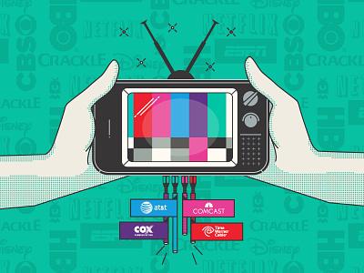 Ott Lystical tv video distribution crackle cbs espn audio ott broadcasting