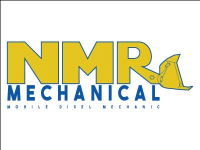 NMR Mechanical Logo design logo