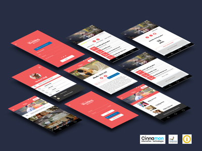 app screen design for an android mobile app by yasasi