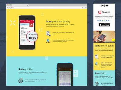 Scanbot Website