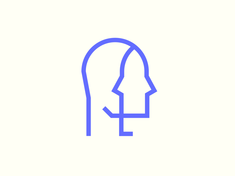 introspect icon logo identity branding illustration