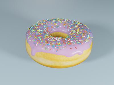 Donut blender3d 3d art blender 3d