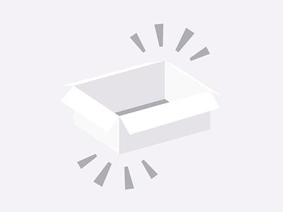 Subtle Grayscale Box subtle sketch illustration