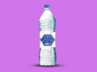 Water Bottle label Design 2021 branding design graphic design illustration