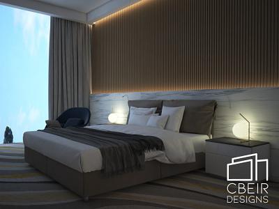 3d Hotel Room Render sketchup lumion branding illustration design architecture design architecture 3d render 3d model 3d