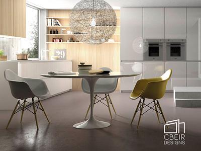 Modern Kitchen 3D Render modern interior design modern interior modern architecture modern kitchen interior architecture interior design interior render 3d model design architecture design architecture 3d render 3d