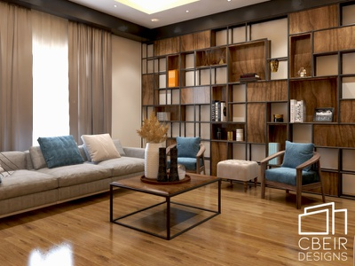 3D Render of a Modern Living Room photoshop interior interior design illustration render 3d model design architecture design architecture 3d render 3d