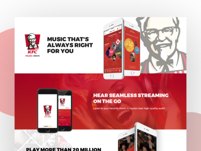 KFC Music store - Product Concept