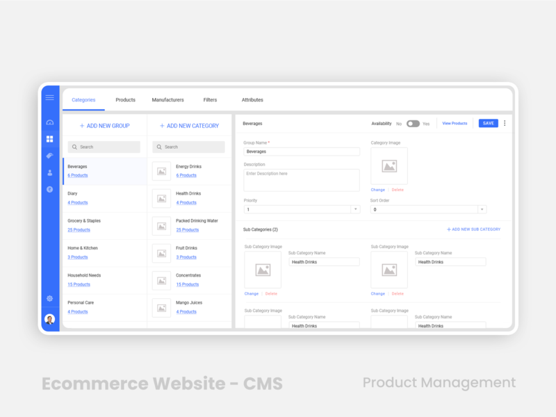 E-commerce Website - Product Management e-commerse ecommerse ecommerse app trending design ecommerse website ui webdesign user inteface user experience product management grocery cms content management ecommerce