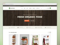 Organique   Wordpress Theme For Healthy Food Shop
