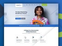 GrowthPress - The all-around marketing WP theme