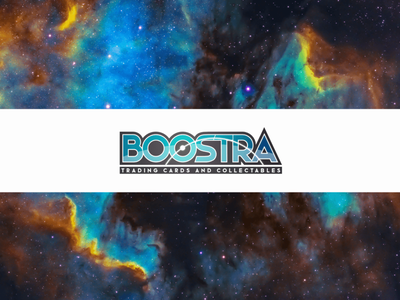 Boostra - Trading Cards and Collectables collectables wordmark graphic design branding logo