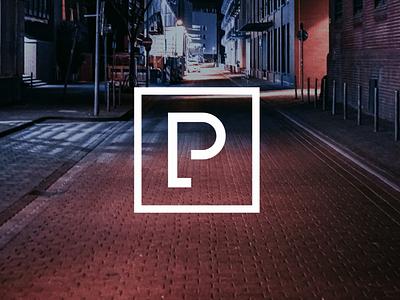 Park Lane Threads brand streetwear clothing brandidentity wordmark logo graphic design branding