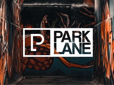Park Lane Threads brand streetwear clothing brandidentity logo wordmark graphic design branding