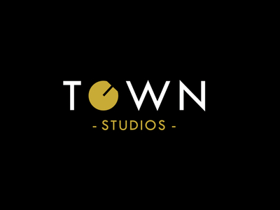 Town Studios mastering music studio brand brandidentity wordmark logo graphic design branding