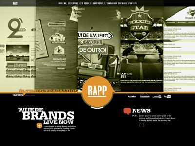 Rapp . Site 2011 site agency rapp web