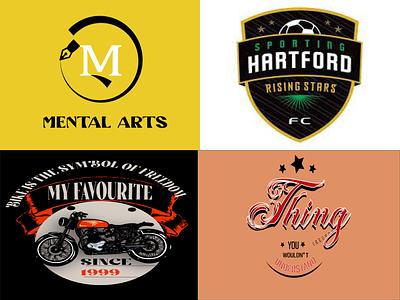 LOGO &T-SHIRT DESIGN vector typography illustration design branding logo graphic design