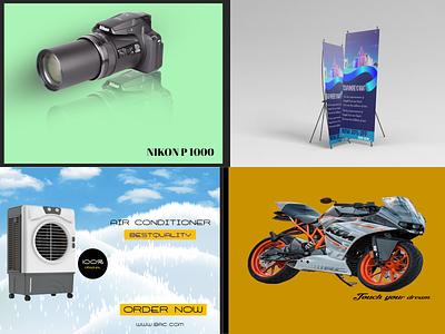 SOCIAL MEDIA & PHOTO EDITING image retouch photo editing social media poster banner flyer vector typography illustration design branding logo graphic design