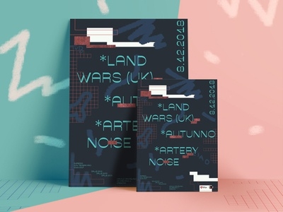 Poster design | Land Wars | ARCI series