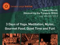 Berwick yoga festival poster full
