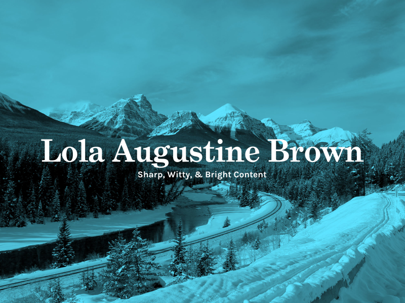 Lola augustine brown website   dribbble shot 001