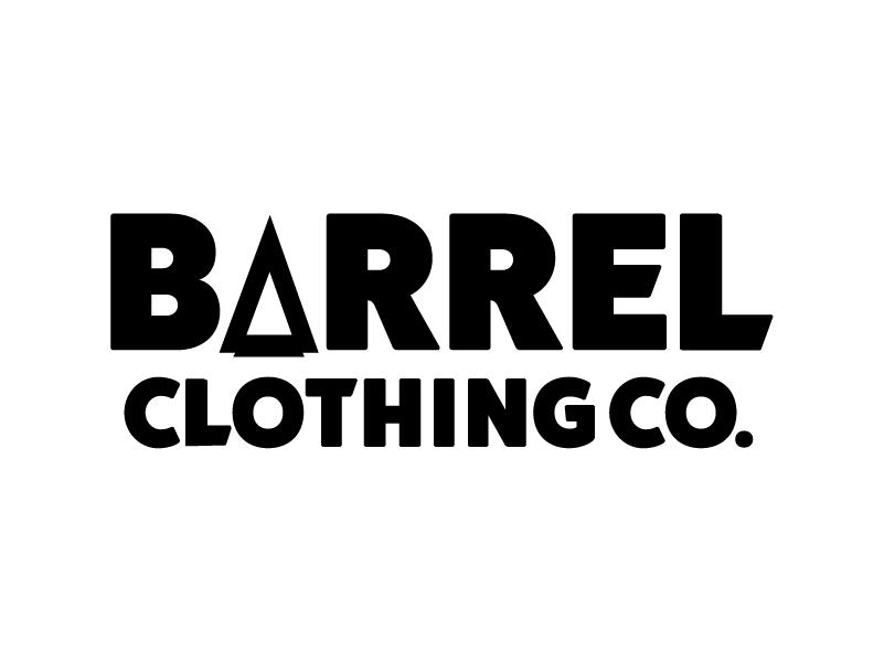 Barrel clothing logotype mono dribbble