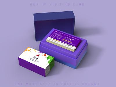 First Business Card - Arifanimaker business card graphic design brand arifanimaker purple colorful business card card mockups business card mockup visiting cards business cards visiting card design business card design agency card design card business visitingcard businesscard