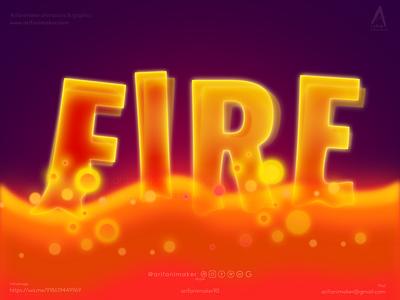 Lava melting fire text arifanimaker affinity designer affinitydesigner melting lava water lava heat fire fire text reddish funky text effect text effect fire text effect