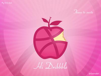 Dribbble in Apple - Apple in dribbble