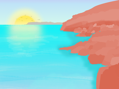 Landscape - Spotlight into Illustration