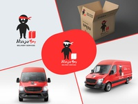 Ninja Boy Logo collage