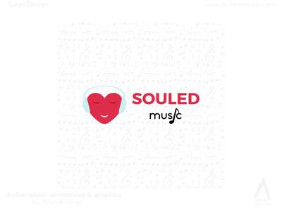 Souled Music - Logo Design