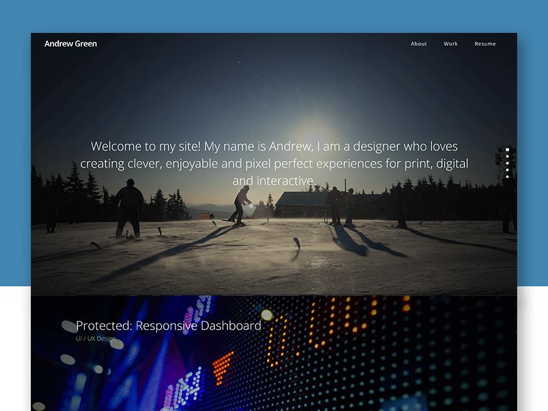 Web Preview portfolio wordpress ux ui art direction web design
