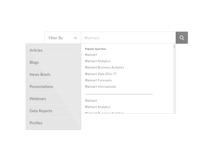 Rethinking how someone searches user experience search bar design wireframe search ux ui