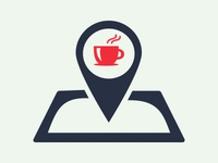 Coffee Place Finder Logo