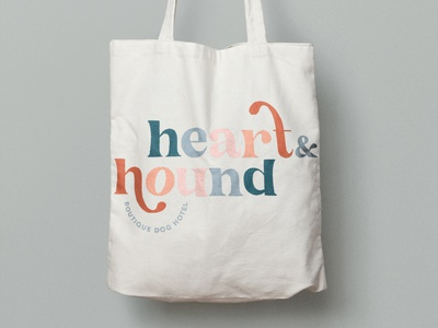 Heart & Hound | Boutique Dog Hotel and Spa dog hotel branding logo design design branding for coaching business branding branding design branding and logo design graphic design