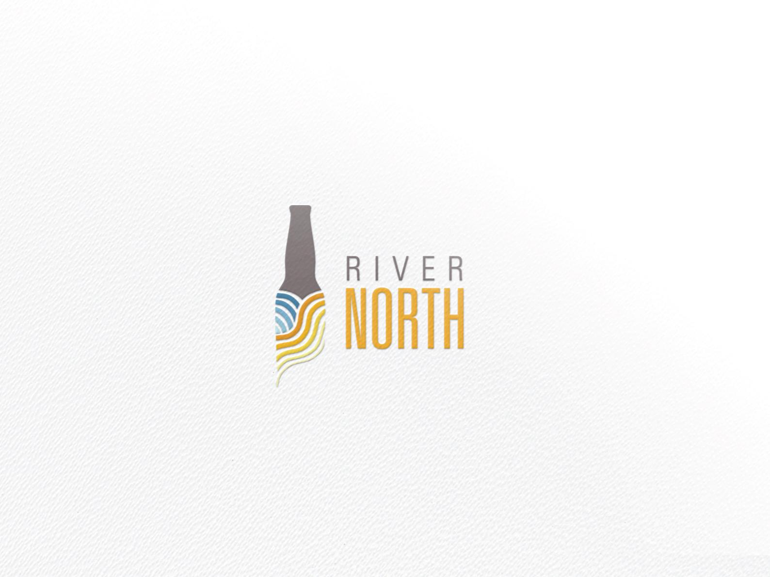River North Logo logo design logo