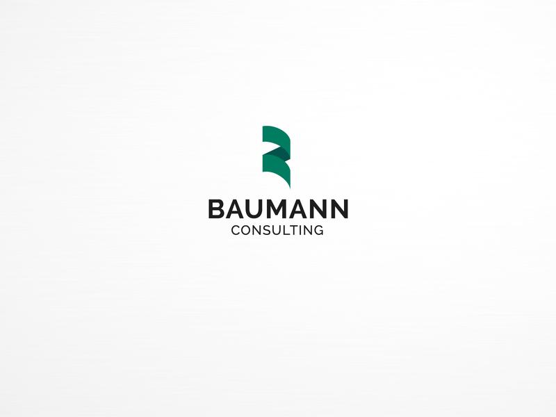 Baumann Logo logo design logo